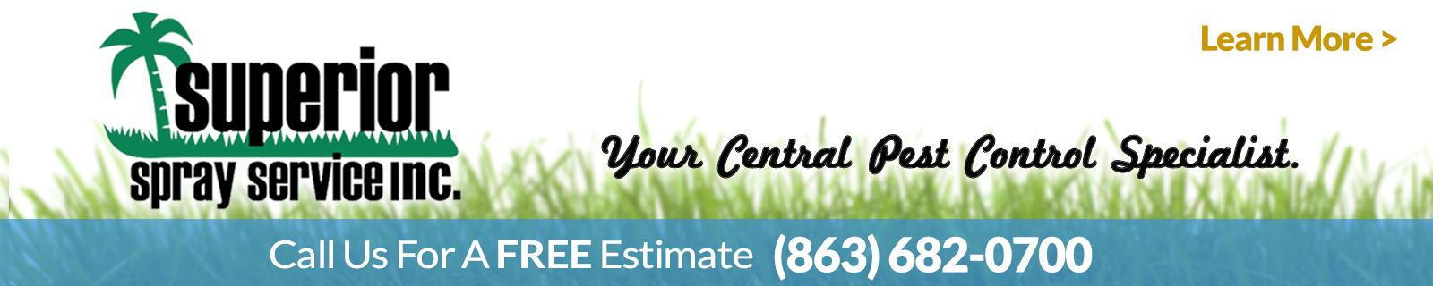Pest control Lawn Care Superior Spray lakeland fl
