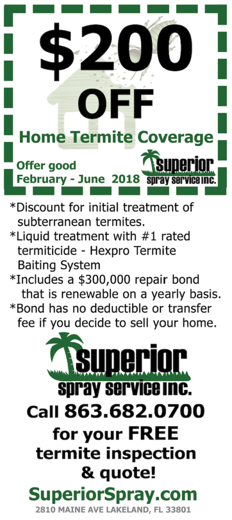 termite coupon inspection