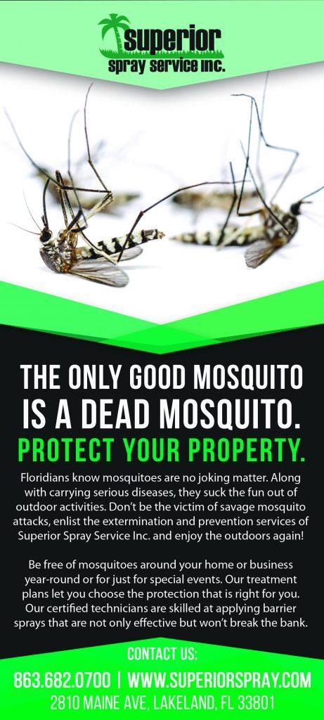 mosquito barrier sprays