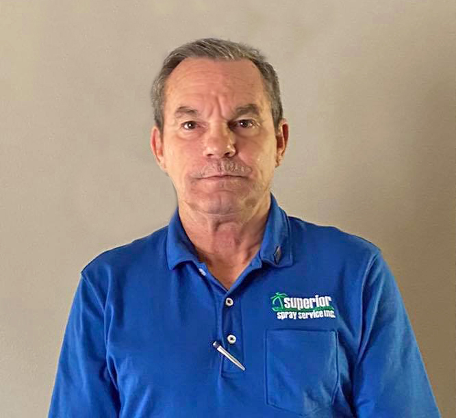 Larry Kelley Superior Spray Service Northwest Florida Branch Manager